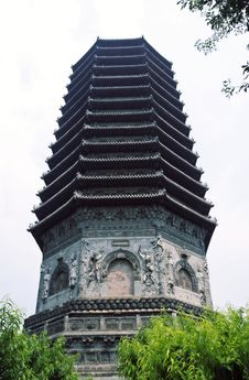 China S Ancient Tower. Royalty Free Stock Images