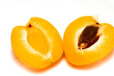 Fresh Apricot Royalty Free Stock Images