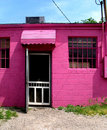 Free Front Of A Bright Pink Building - Vertical Stock Image - 5830031