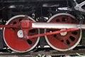Free Wheel Of The Vapour Train Royalty Free Stock Photo - 5830145