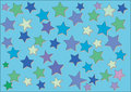 Free Abstract Star Background Stock Image - 5834331