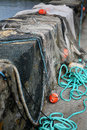 Free Drying Fishing Nets Stock Photography - 5834592