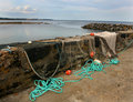Free Drying Fishing Nets Royalty Free Stock Images - 5834639