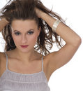 Free Close-up Portrait Of Beautiful Woman With Professi Royalty Free Stock Photography - 5834797