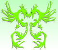 Free Green Dragon Stock Photography - 5838042