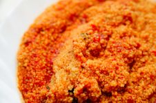 Tomato Sauce Cous Cous Stock Photography