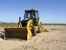 Free Steam Shovel Digging Into The Ground - Horizontal Stock Photos - 5830063