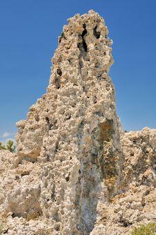Free Tufa  Rock Formation Stock Image - 5830321