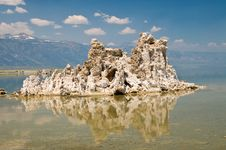 Free Tufa Rock Formation Royalty Free Stock Photo - 5830455