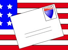 Free American Letter 2 Royalty Free Stock Photography - 5830777