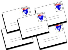 Free Lots Of American Letters 9 Royalty Free Stock Image - 5830906