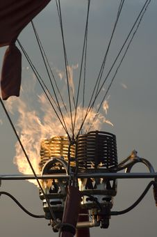 Free Balloon Burner Detail Stock Photo - 5831280