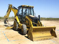 Free Giant Steam Shovel Digging Up Dirt - Horizontal Stock Image - 5831391