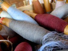 Free Close Up Shot Of A Variety Of Yarn - Horizontal Stock Photos - 5831473