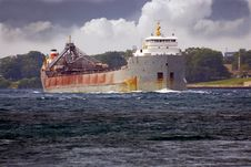 Free Freighter St, Clair River Stock Photos - 5831493