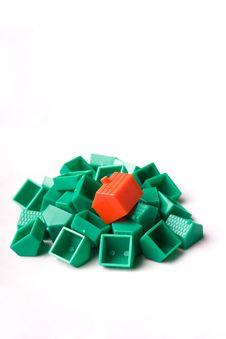 Free Plastic Model Houses Royalty Free Stock Photos - 5831858