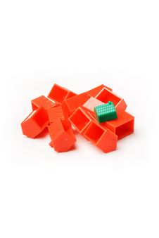Free Plastic Model Houses Stock Photography - 5831882