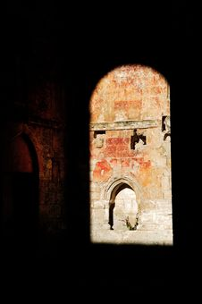 France, Normandie: Abbey Of Saint Wandrille Royalty Free Stock Image