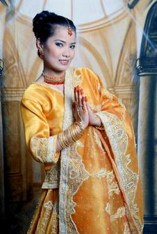 Free Asia Girl Stock Image - 5832531