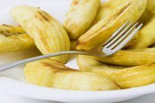 Free Fried Banana Stock Photography - 5832652