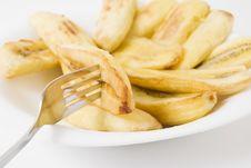 Free Fried Banana Royalty Free Stock Photography - 5832657