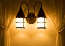 Free Wall Lights Royalty Free Stock Photos - 5832658