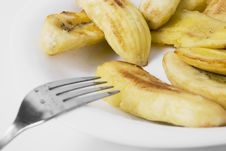 Free Fried Banana Stock Photography - 5832672