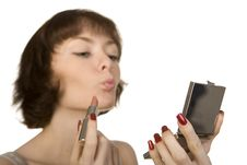 Free Morning Make -up Stock Image - 5833151