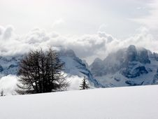 Free Madonna Di Campiglio Royalty Free Stock Image - 5833766