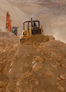Free Earthmover On Site Stock Images - 5833964