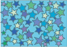Free Abstract Star Background Stock Images - 5834334
