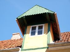 Free Dormer Roof Attic Window Stock Photos - 5834353