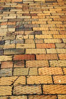Free Brick Pavement Stock Photography - 5834582
