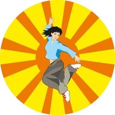 Free Dancing Girl Royalty Free Stock Image - 5835036