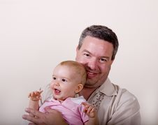Free Father And Baby Stock Image - 5835471