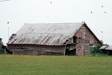 Free Broken Barn Stock Images - 5836894