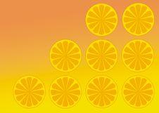 Free Oranges Background Royalty Free Stock Photos - 5837158