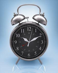 Free Old Clock (Black Display) Stock Images - 5837174