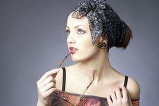 Free Glamour Portrait Stock Photo - 5837270