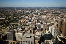 Free Daytime Aerial View Of Chicago Royalty Free Stock Photos - 5837738