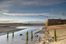 Free Arnside Shore & Pier Royalty Free Stock Photos - 5837748