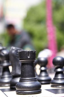 Free The Game Of Chess Royalty Free Stock Photography - 5837757