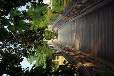 Free Wooden Bridge Over River Stock Photos - 5838233