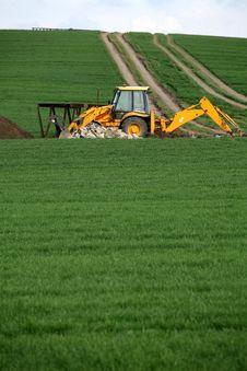 Free Excavator Stock Image - 5839181