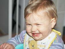 Free Happy Baby Laughing Stock Image - 5839231