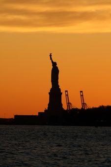 Free Dramatic Statue Of Liberty Stock Photos - 5839283