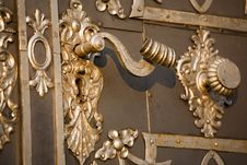 Free Detail Of Entrance Door Royalty Free Stock Photography - 5839317