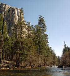 Free Merced River In Yosemite Valley Stock Images - 5839544