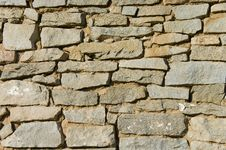 Free Old Stone Wall Background Royalty Free Stock Photography - 5839697