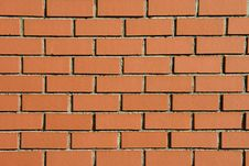 Free Modern Brick Wall Background Royalty Free Stock Photography - 5839847